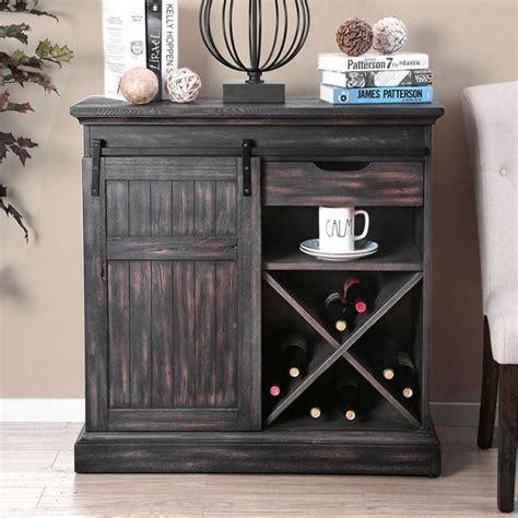 mandy wine cabinet gray furniture  america furniture