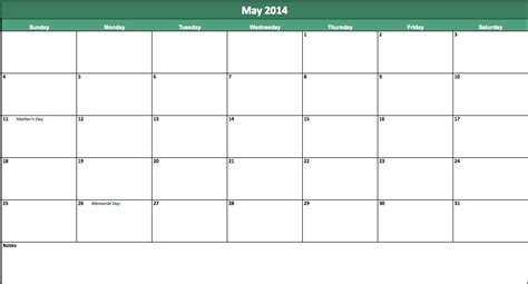 word 2014 calendar template may 2014 calendar 2014 may calendar