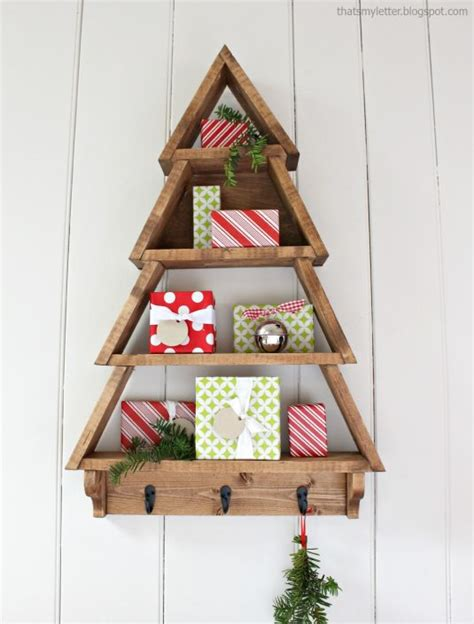 12 ideas originales 193 rboles de navidad con estanter 237 as