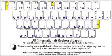 keyboard layout us international pc united states international keyboard labels dsi
