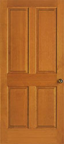 raised panel closet doors 4 panel raised clear stain grade hemlock solid interior wood doors door ebay