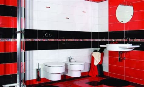 red black and white bathroom decor bathroom design with red black and white concept residential interior design red