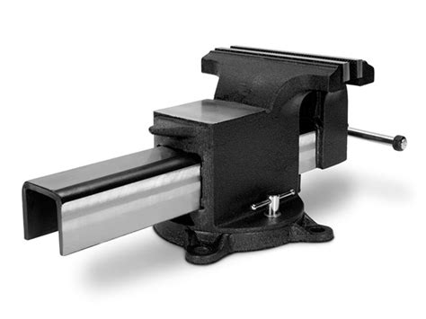 8 bench vise 8 inch swivel bench vise