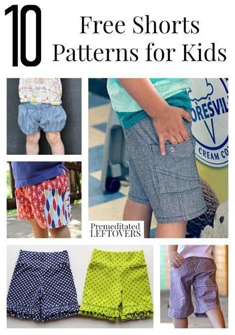 Printable Shorts Pattern
