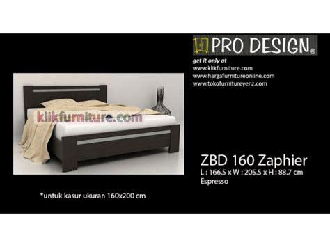 Ranjang Kayu Ukuran 160 zbd 160 zaphier pro design ranjang kayu minimalis harga