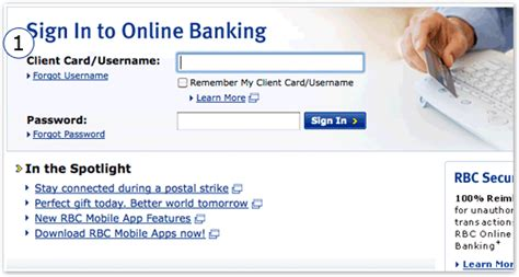 Sign In To Rbc Banking Royal Bank Of Canada