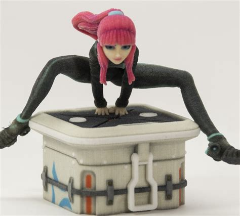 Anime 3d Print by Daz 3d Embraces 3d Printing For Their Popular Figurines