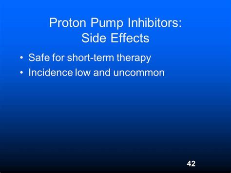 Side Effects Of Proton Inhibitors by Drugs Acting On Gastrointestinal Tract Ppt