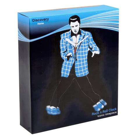 elvis clock swinging legs rock n roll elvis novelty gift wall clock with swinging