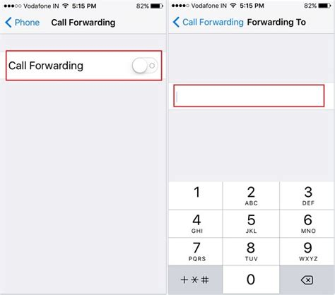how to forward a call from iphone to another number ios