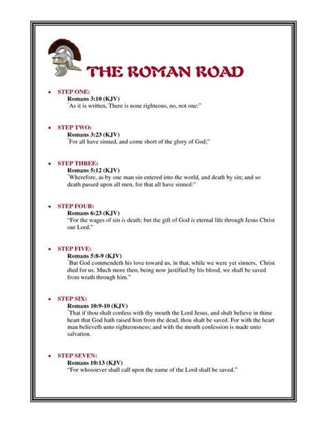 printable quiz on salvation romans road to salvation printable quotes parish ed