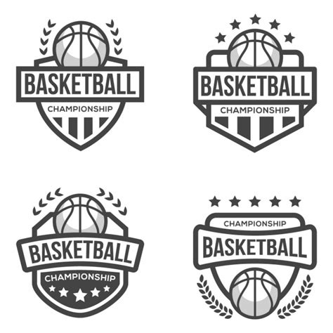 Basketball Logo Template Vector Free Download Basketball Team Logo Template
