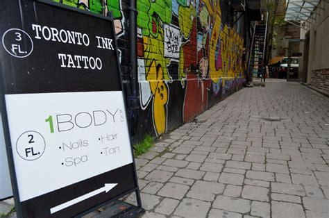 tattoo shops toronto queen street tattoo artists quarrel over toronto ink name toronto star