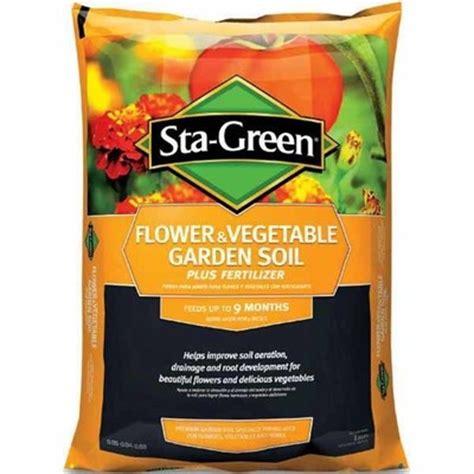 Sta Green Garden Soil by Lowes Deal Sta Green 1 Cu Ft Flower Vegetable Garden