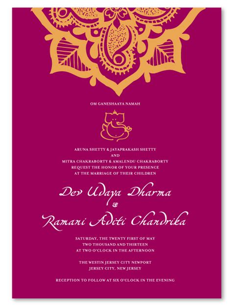 wedding invitations cards india henna flower premium recycled wedding card weddings