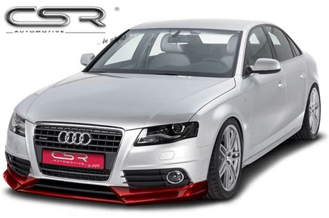 Audi Csr by Audi A4 B8 Csr Styling Frontspoiler S Line Astina Dk