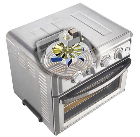 Toaster Oven With Convection Cuisinart Air Fryer Convection Toaster Oven Silver