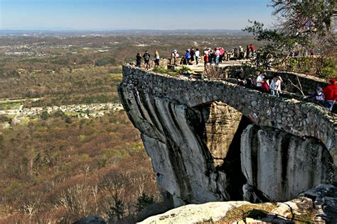 Rock City Gardens Photo Atop A High Cliff At Rock City Gardens Chattanooga Tennessee