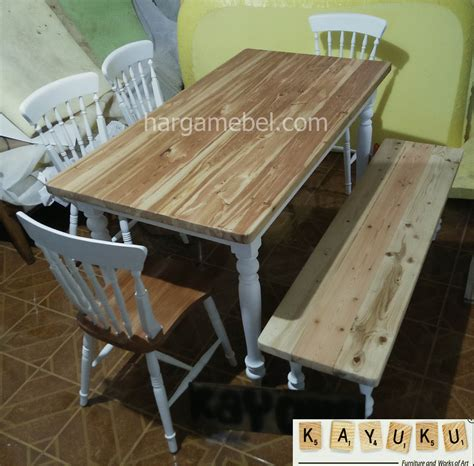 Meja Makan Lb Furniture set meja makan jati belanda mebel jepara furniture