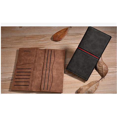 Dompet Panjang Kulit Asli Pria Wanita Murah Cj23 Suss Brown dexbxuli dompet kulit pria retro model panjang black jakartanotebook