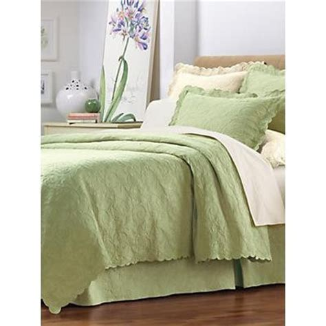 matelasse coverlet king size new linensource king size grand supima matelasse celadon