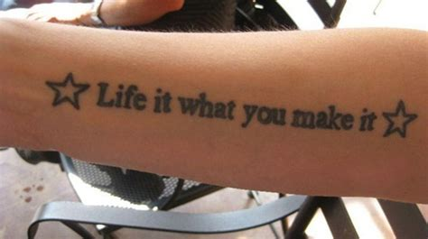 it is what it is tattoo 10 quote tattoos for images and pictures