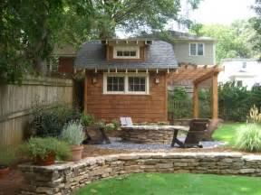 backyard architect backyard retreat in town atlanta craftsman landscape