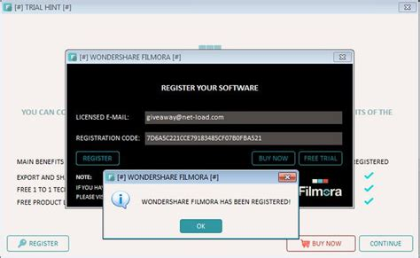 email register filmora giveaway wondershare filmora 6 0 2 free net load