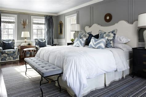 Blue And Gray Bedrooms by Gorgeous Blue Grey Bedroom Decor Bedroom