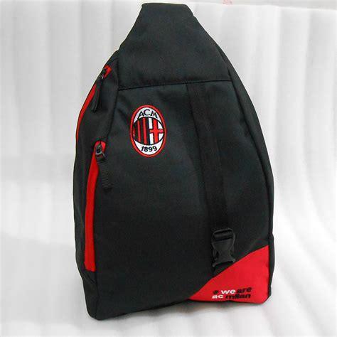 Tas Selempang Ac Milan Merah tas ac milan selempang punggung tasklubbola