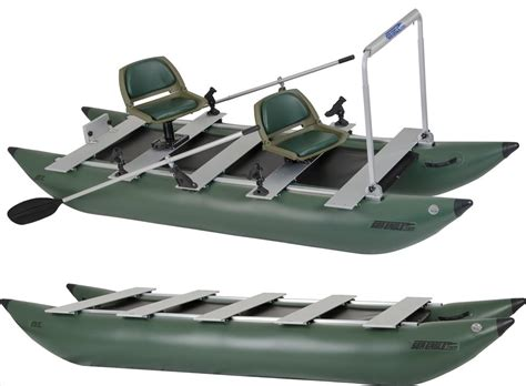 inflatable pontoon boat prices sea eagle 375fc 2 person inflatable pontoon fishing boat