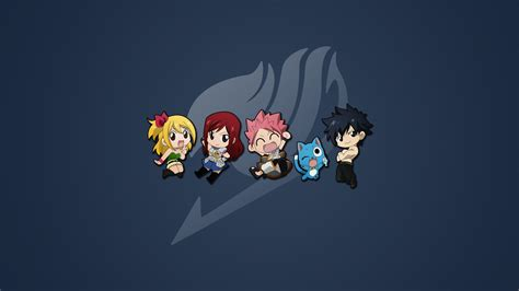 anime fairy tail lucy wallpaper chibi erza scarlet fairy tail gray fullbuster happy fairy