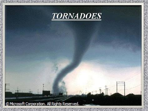 tornadoes authorstream