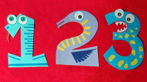 number crafts for animal numbers craft ideas for mocomi