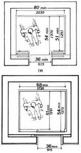 Handicapped House Plans by Fig 22 Minimum Dimensions Of Elevator Cars