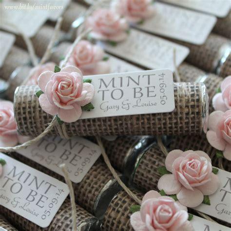 unique wedding favor ideas etsy mint wedding favors set of 50 mint rolls quot mint to be quot favors with personalized tag burlap