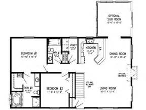 2 bedroom 1 bath mobile home floor plans the world s catalog of ideas