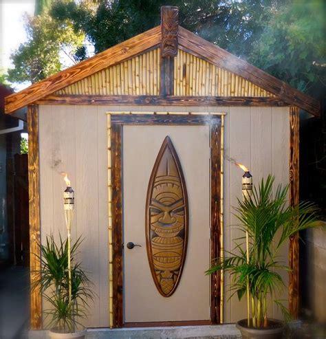 tiki hut shed 1000 ideas about outdoor tiki bar on pinterest tiki