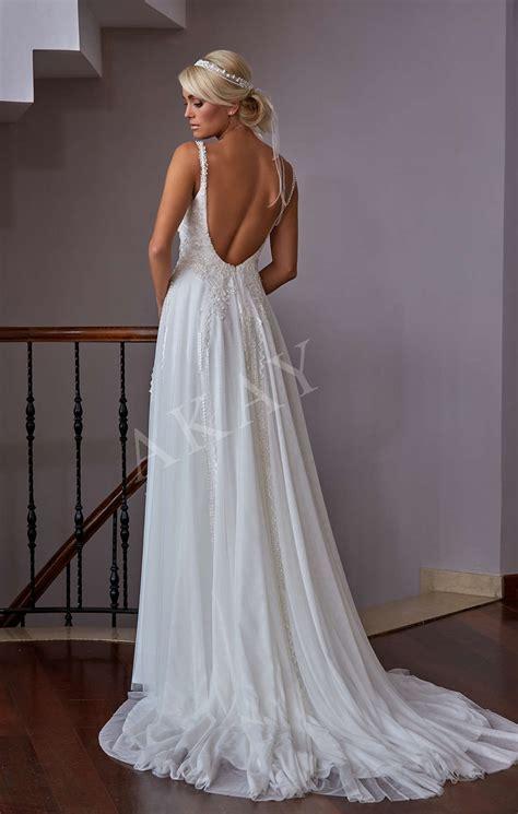 Dress Novela novela v neck wedding dress in lace tulle and a mermaid