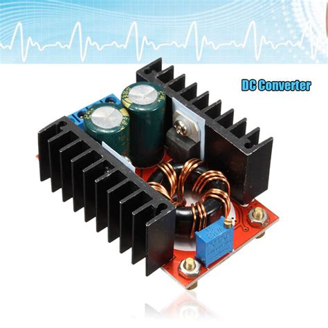 Dc Boost Converter Step Up 150w 6a Penaik Tegangan Volt Dc 150w 6a adjustable dc boost converter step up 10 32v to 12 35v voltage charger module power