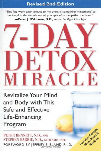 7 Day Detox Miracle Pdf epub 7 day detox miracle revised 2nd edition