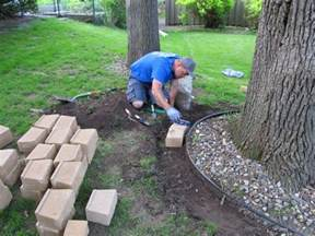 Landscape Edging Around Tree Roots Whinter Popular Landscaping Ideas Around Trees Pictures