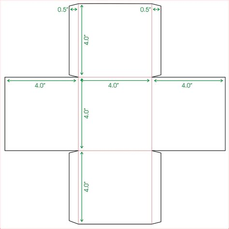 box card template free box template printable activity shelter