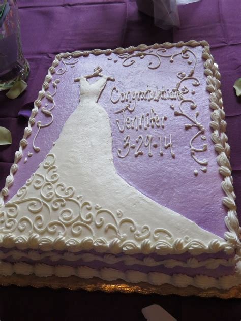 bridal shower cakes ideas purple bridal shower cake wedding cakes