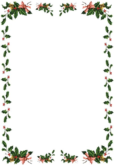 printable christmas holly christmas holly border new calendar template site