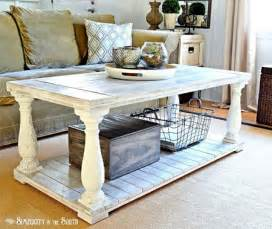 Diy Farmhouse Coffee Table by Make This Easy Rustic Farmhouse Coffee Table With