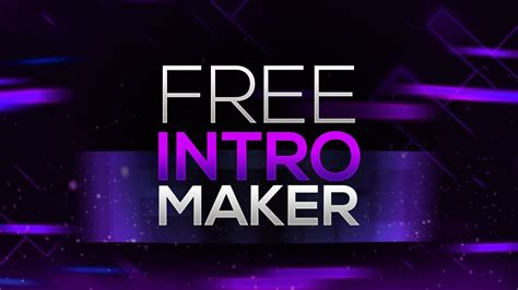 How to Make an Intro for YouTube Videos FOR FREE! No