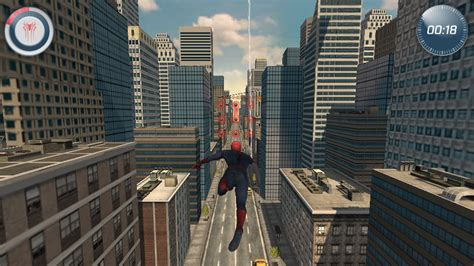 spider man swinging game sony debuts endless swing online to promote amazing