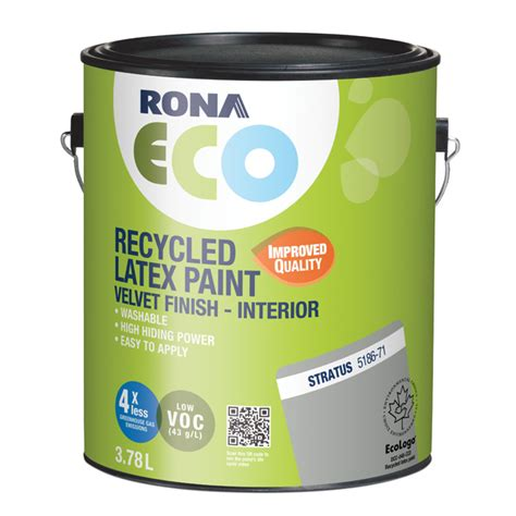 recycled interior paint stratus rona