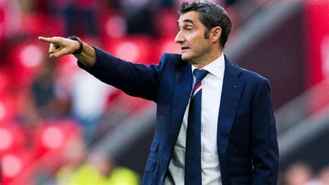 barcelona coach ernesto valverde is the new coach of barcelona after luis